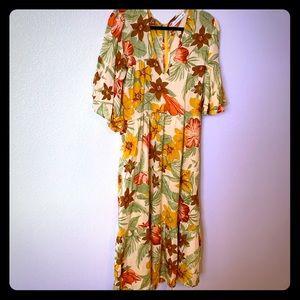 Anthropologie Midi Dress (Faithfull the Brand)